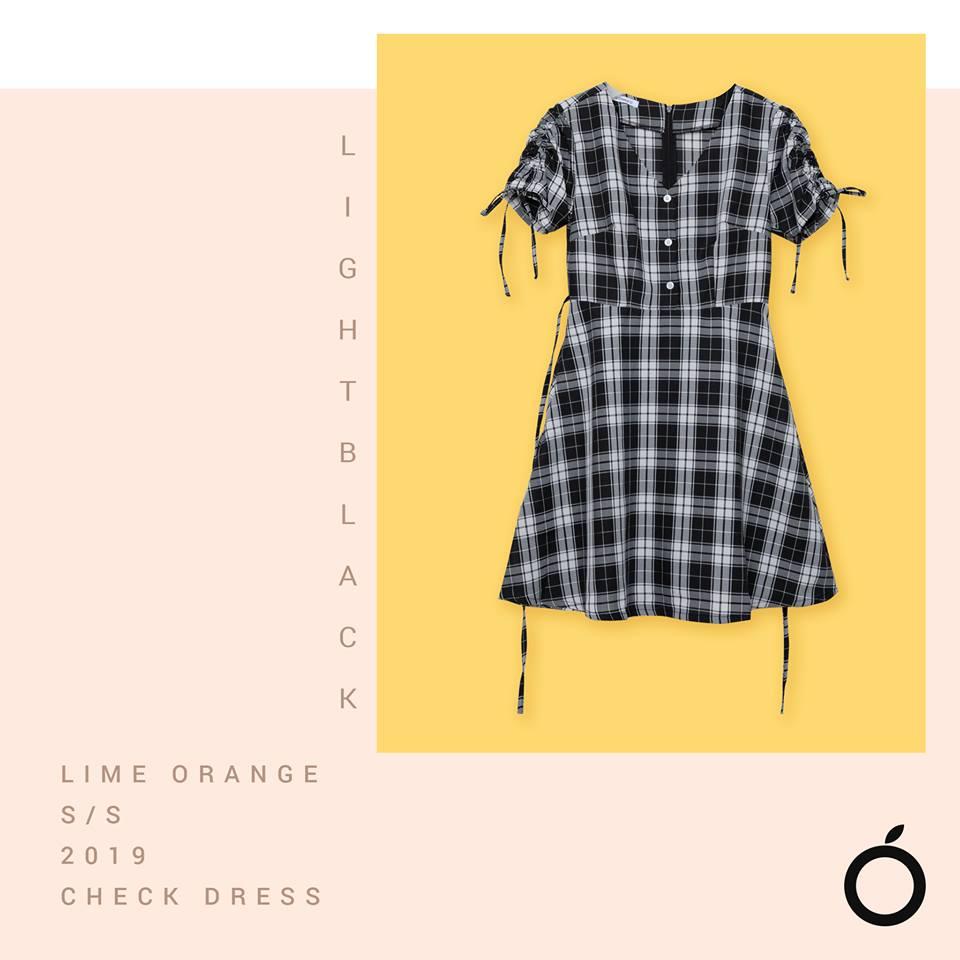 LIME ORANGE – BASIC T-SHIRT, SKIRT