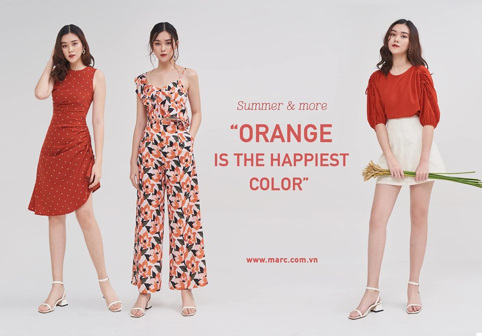 MARC – ORANGE IS THE HAPPIEST COLOR