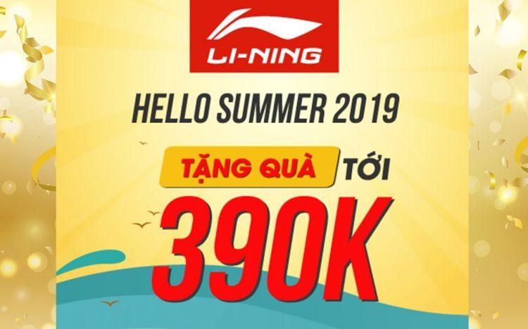 LI-NING – TẶNG QUÀ LÊN ĐẾN 390.000VNĐ