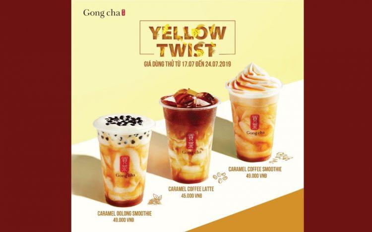 GONGCHA – YELLOW TWIST
