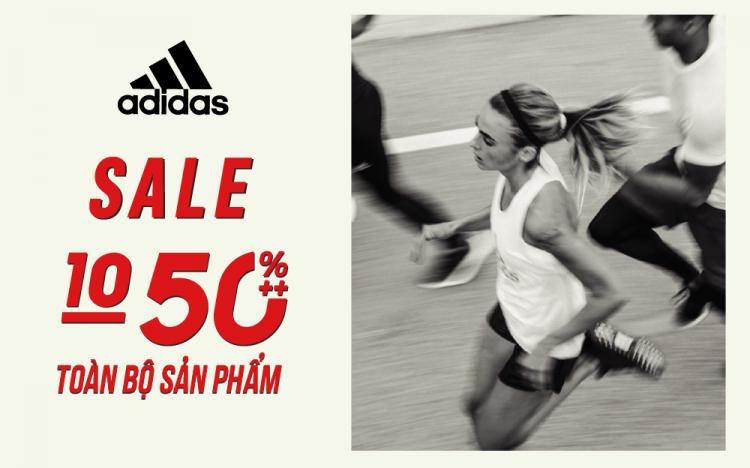 adidas – GIẢM ĐẾN 50% TOÀN BỘ SẢN PHẨM