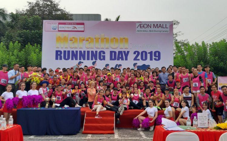 GIẢI CHẠY BỘ RUNNING DAY 2019 – AEON MALL BÌNH DƯƠNG CANARY