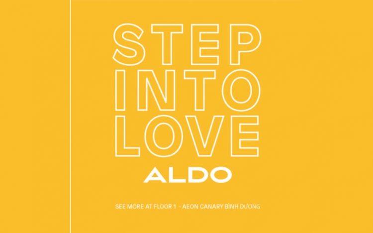 ALDO – DANCE CHALLENGE VŨ ĐIỆU STEP INTO LOVE